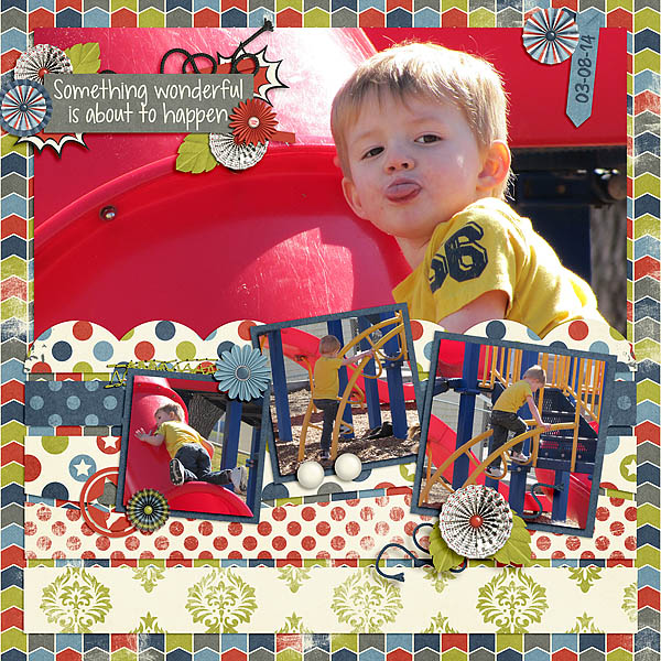 layout by treemoon using Everyday Hero