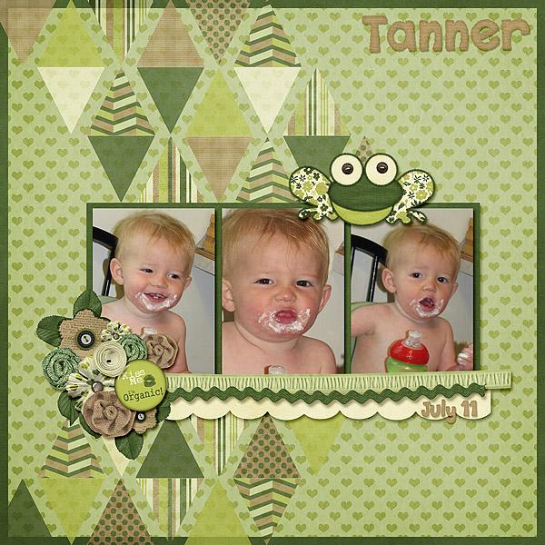 Tanner Eating 07-11