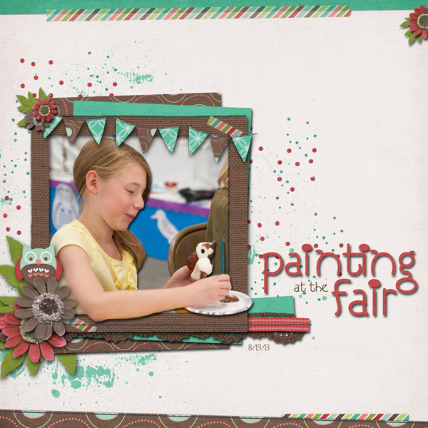 Painting At The Fair