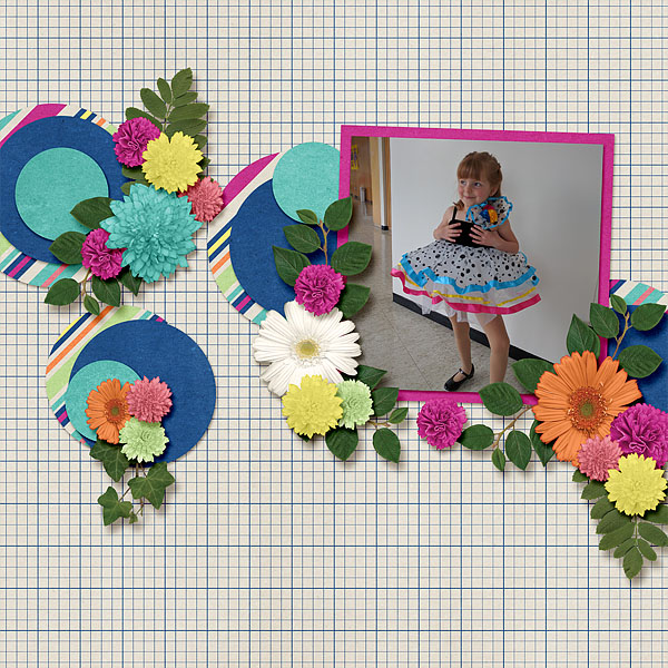 layout by MeleahG usinfg Free to Fly