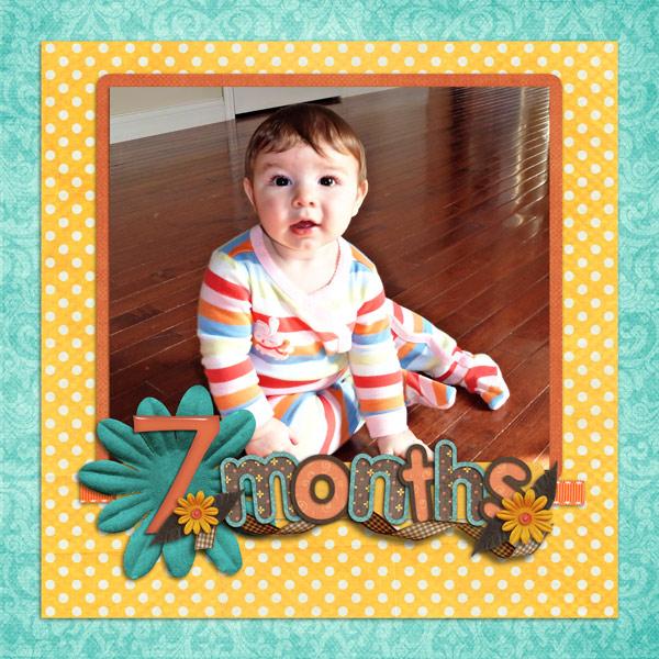 Charlotte, 7 Months