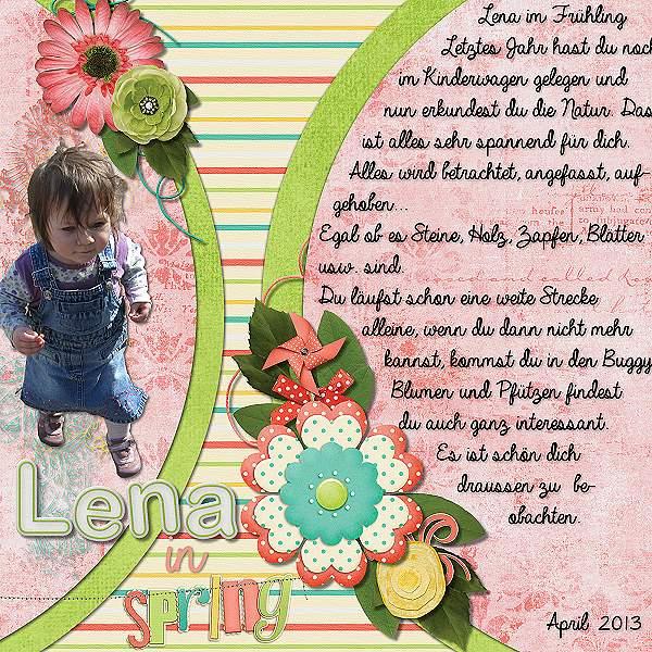 Lena in spring