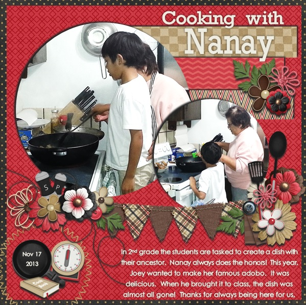 Cooking with Nanay