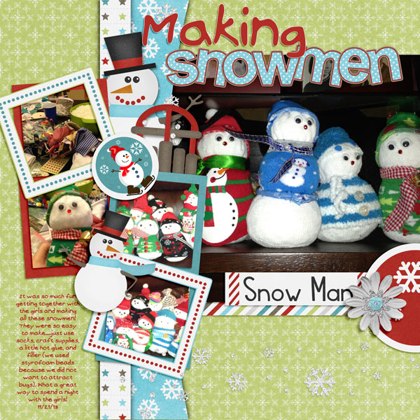Making Snowmen