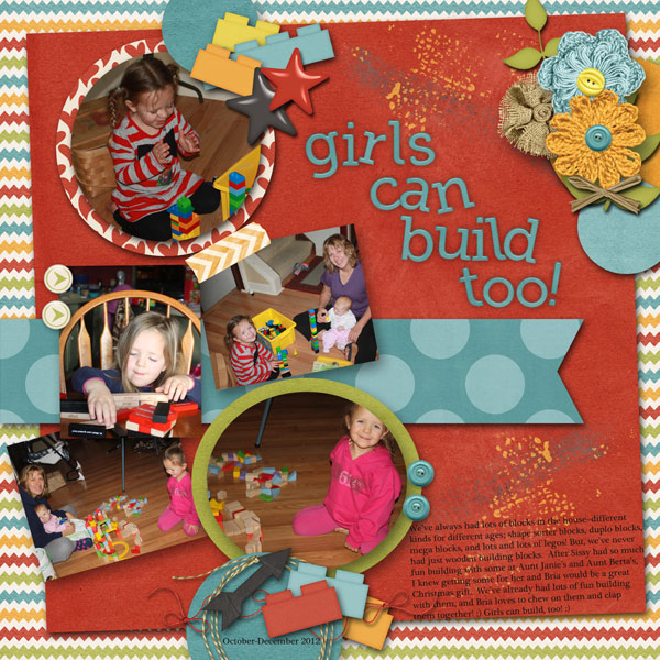 Girls Can Build Too!