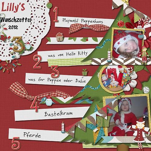 Lilly's Wunschzettel