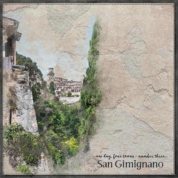 1 Day, 4 Towns No3 San Gimignano LHS
