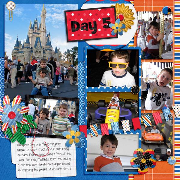 Day 5 :Disney
