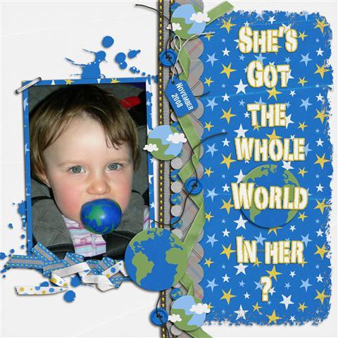 She's got the whole world...