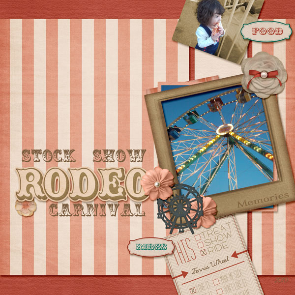Stock Show Rodeo Carnival