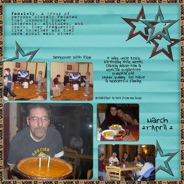 2011 Project 52-Week 13