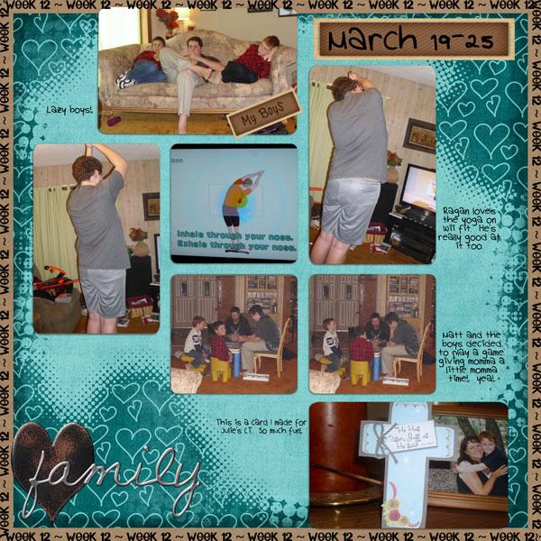 2011 Project 52-Week 12