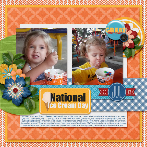 National Ice Cream Day 2013