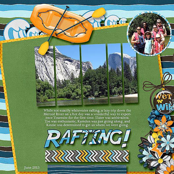 2013-10 mix it up Rafting at Yosemite