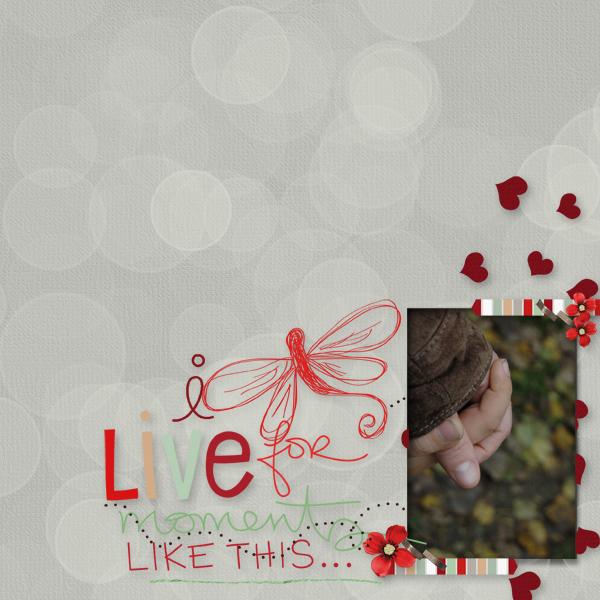 I live for ..