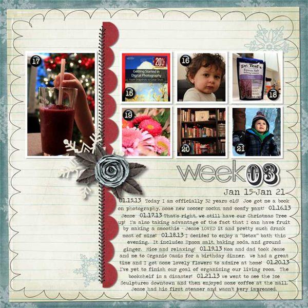 2013 Week 3