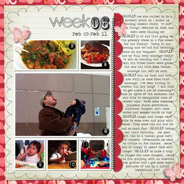 2013 Week 6