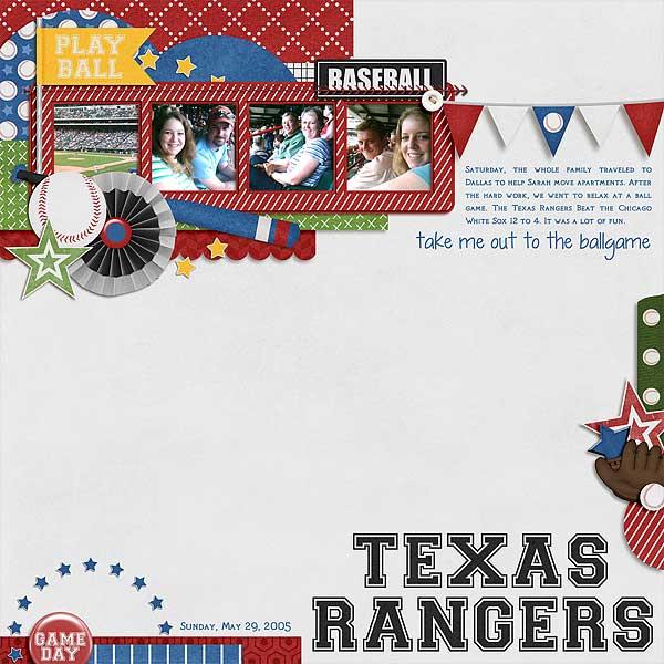 Texas Rangers 5/29/2005