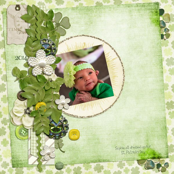 Sophie in Green