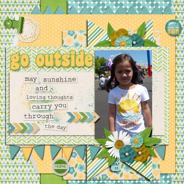 Go Outside & Shine