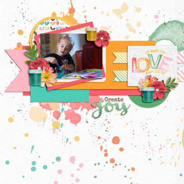 River Rose - Create Joy / Aprilisa Designs - Picture Perfect 61 TP3