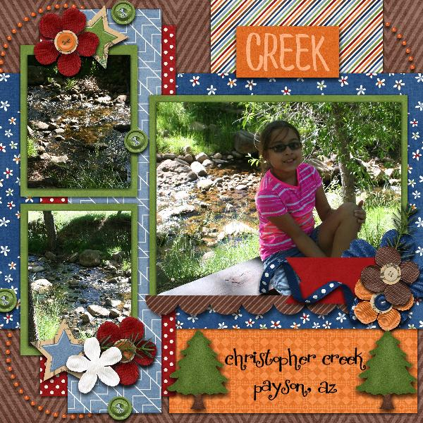 Camp by the Creek
