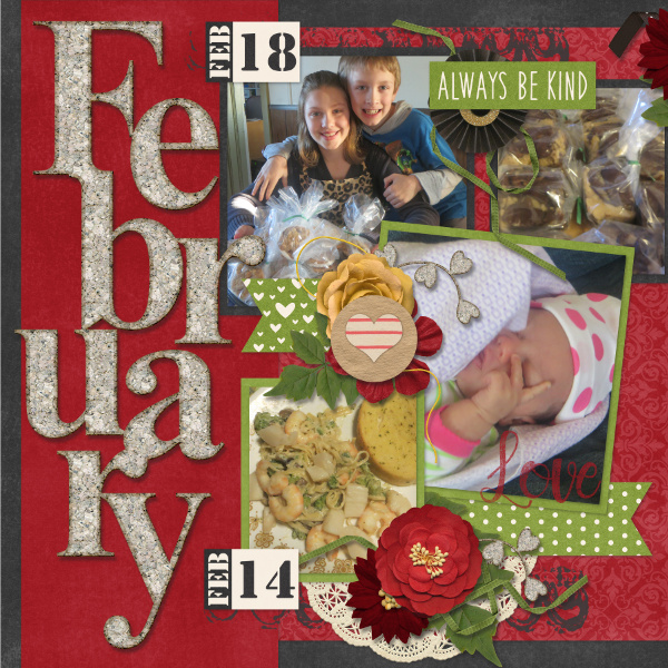 My February {2016} -Left Side
