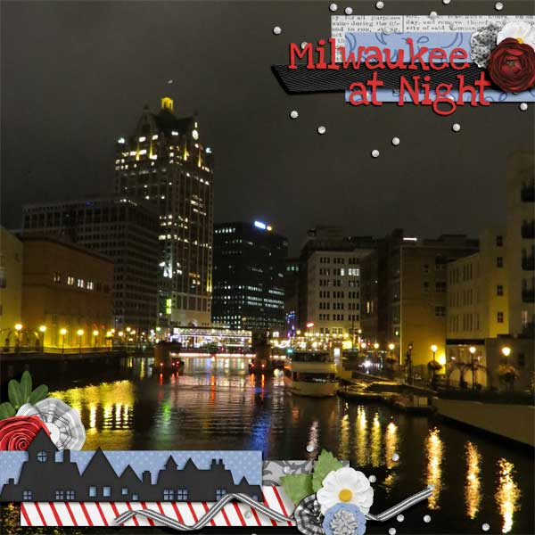 Milwaukee at Night 1