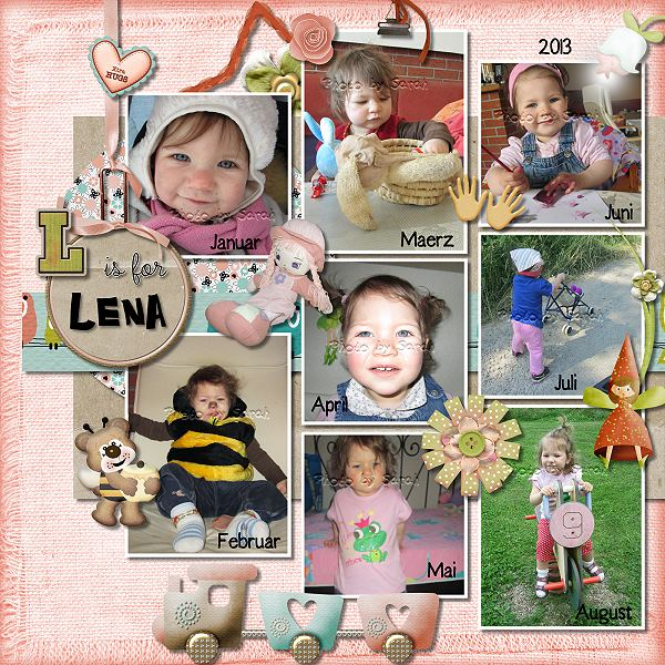 L is for Lena