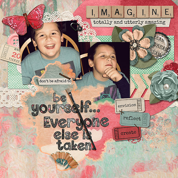 Imagine/Be Yourself