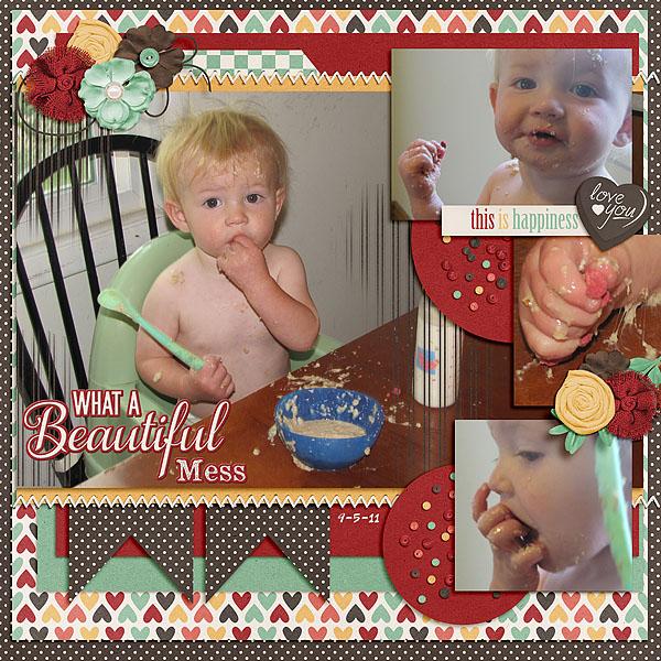 Tanner Eating 09-2011