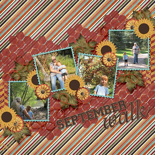 layout by MeleahG using Count Your Blessings