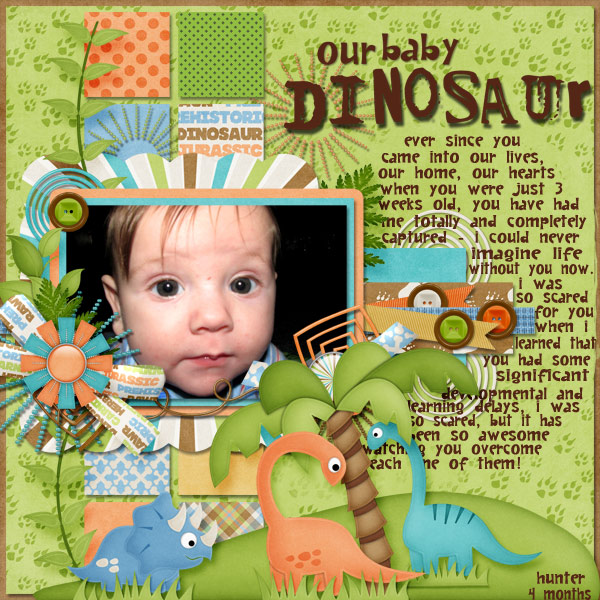 Our Baby Dinosaur