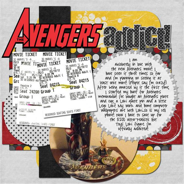 Avengers addict!