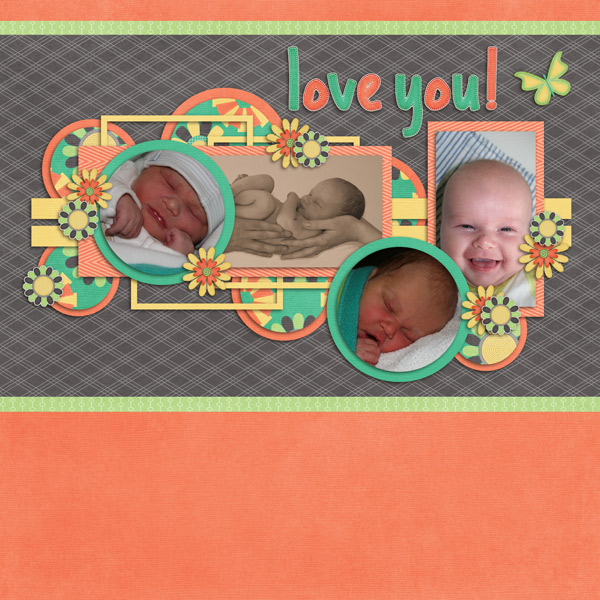 Little Rad Trio - Thanks so much / Seatrout Scraps - GS December Template C