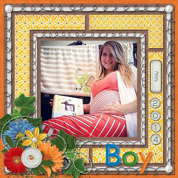 Baby Boy May 2014