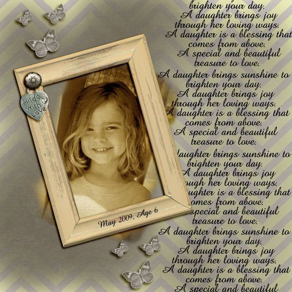 Becca, age 6