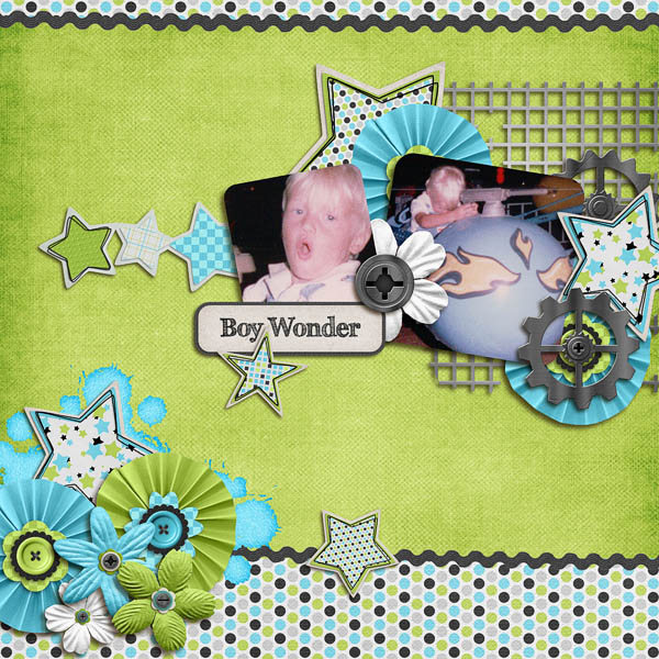 Boy Wonder for MissDamsel (april Swap)
