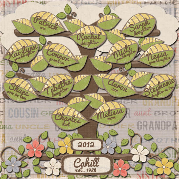 Cahill Family Tree