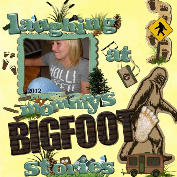 Mommy's Bigfoot Stories