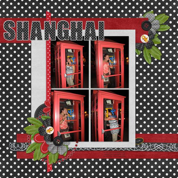 China - Shanghai Phone Booth
