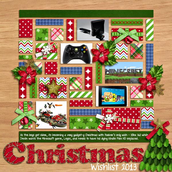 Christmas Wishlist 2013
