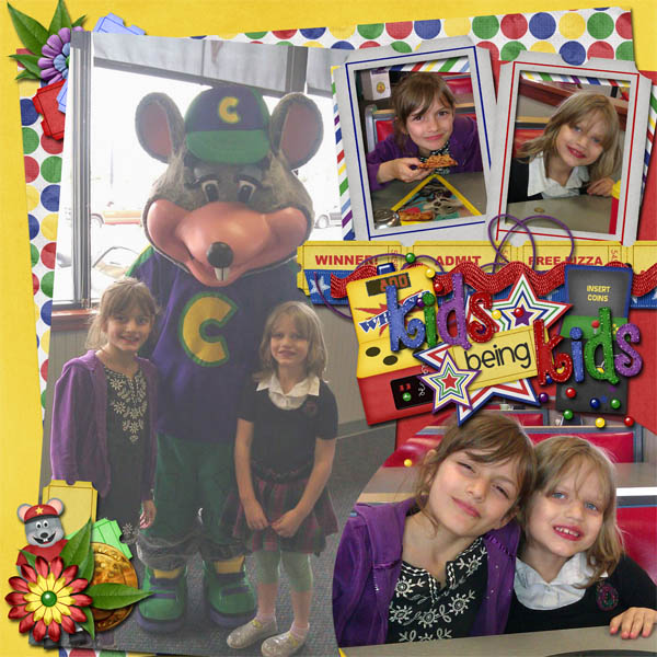 Chuck E Cheese time