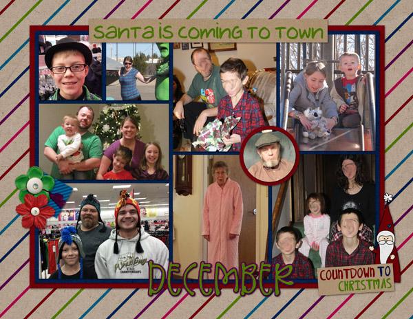 December Calendar 2014