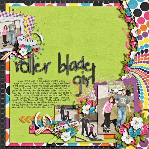 Roller Blage Girl