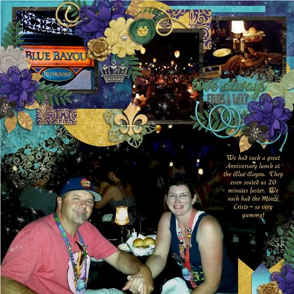 Blue Bayou Anniversary Dinner