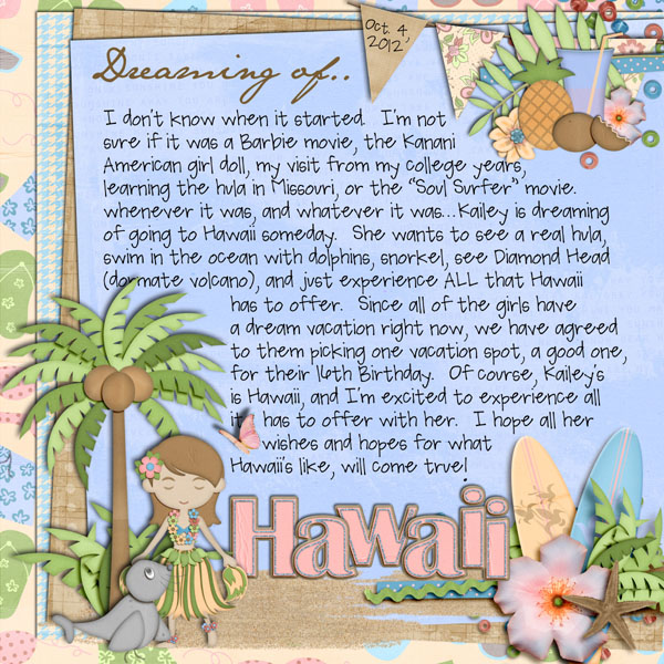 Dreaming Of Hawaii