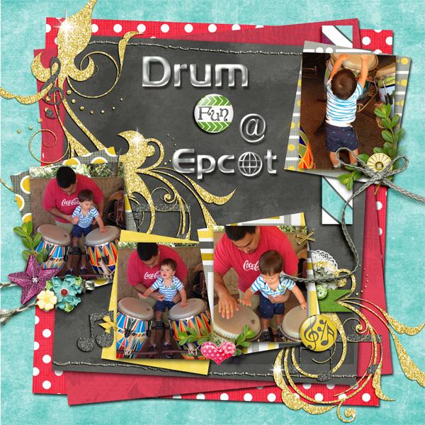 Drum fun @ Epcot