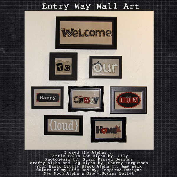 Entry Way Wall Art