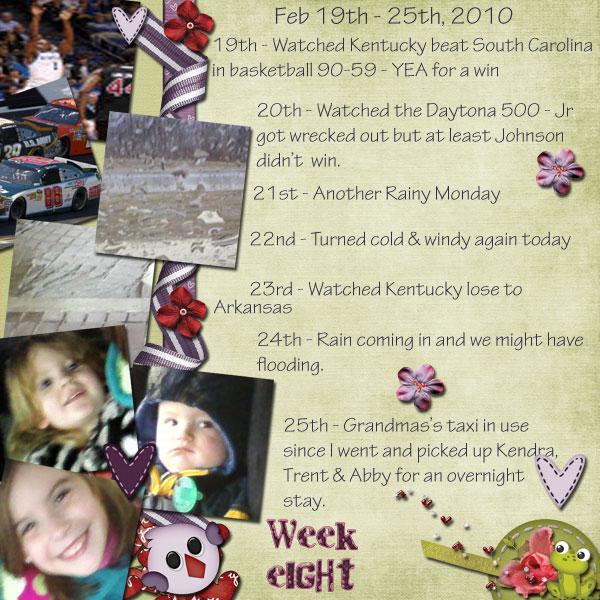 P52 - Week 8 - Feb 19-25